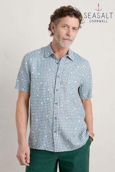 Tommy Hilfiger Blue Foil Print T-Shirt