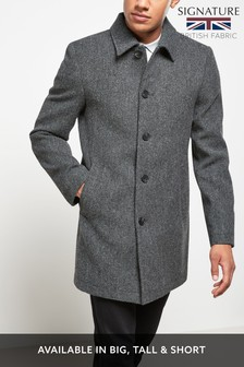 Signature Car Coat