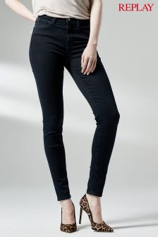 Replay® Black Joi Super High Skinny Jean