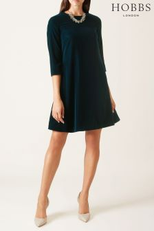 Hobbs Blue Agnes Dress