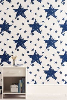 Paste The Wall Star Wallpaper