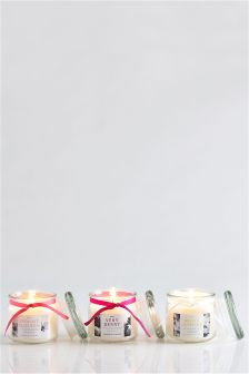 Set Of 3 Fragranced Candle Jars