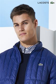 Lacoste® Navy Gingham Shirt
