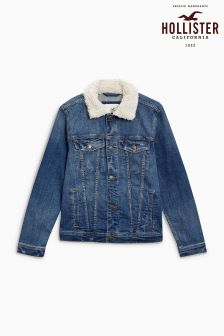 Hollister Sherpa Denim Jacket