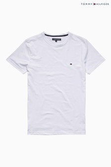 Tommy Hilfiger White New Stretch T-Shirt