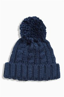 Cable Beanie (Younger Boys)