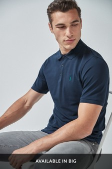 Pique Poloshirt With Stretch