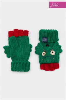 Joules Dragon Character Mittens