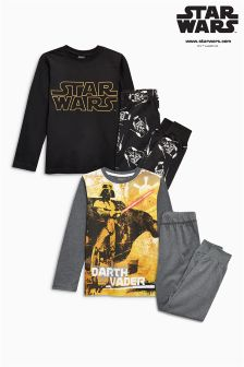 Star Wars™ Pyjamas Two Pack (3-12yrs)
