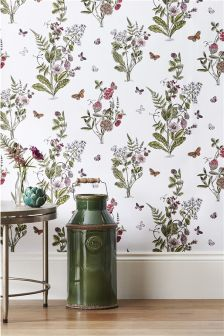 Paste The Wall Orchard Floral Wallpaper