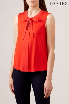 Hobbs Orange Maisie Top