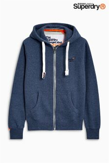 Superdry Orange Label Zip Through Hoody