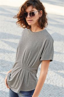 Asymmetric Metallic Tee