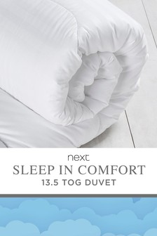 Sleep In Comfort 13.5 Tog Duvet