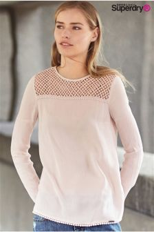 Superdry Midwest Pink Mimi Blouse