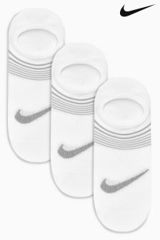 Nike White Lightweight Training Socks