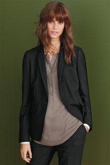 Signature Textured Suit Jacket
