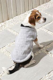 Eat Sleep Bark Repeat Dog Sweater