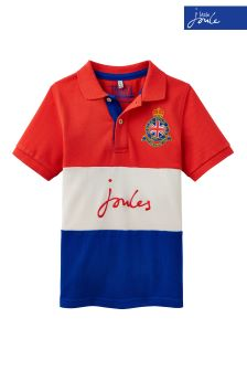 Joules Red Pique Poloshirt