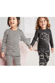 Cloud Snuggle Pyjamas Two Pack (9mths-8yrs)