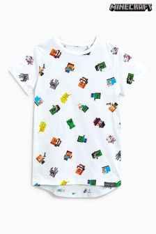 Minecraft All Over Print T-Shirt (4-14yrs)
