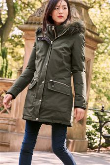 Womens Green Jackets & Green Khaki Jackets | Next UK