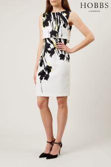 Hobbs White Bree Dress