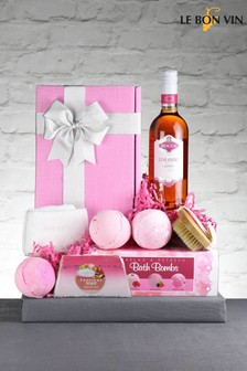 Zinfully Pink Gift Box From Le Bon Vin