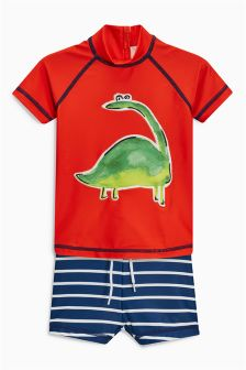 Dino Two Piece Swim Set (3mths-5yrs)