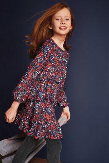 Floral Print Dress (3-16yrs)