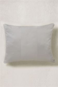 300 Thread Count Cotton Waffle Stripe Cushion
