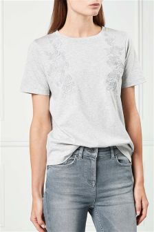 Embroidered Tee