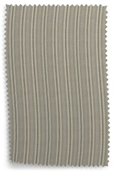 Ticking Stripe Grey Fabric Roll