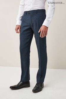 Signature Linen Suit: Trousers