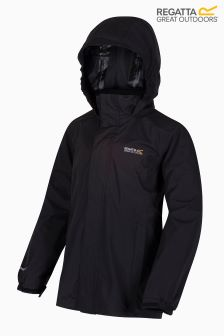 Regatta Black Greenhill II Waterproof Jacket