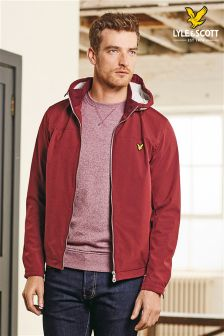 Lyle & Scott Red Shell Jacket