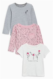 Mix T-Shirts Three Pack (3mths-6yrs)