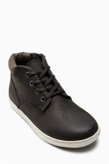 Leather Chukka Boots (Older Boys)
