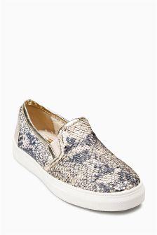 Sequin Skater Shoes (Older Girls)