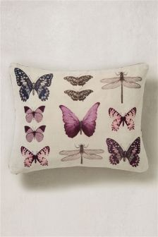 Photographic Butterfly Cushion