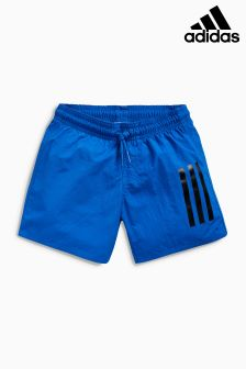adidas Blue Logo Swim Short