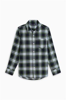 Boys Long Sleeve Check Shirt (3-16yrs)