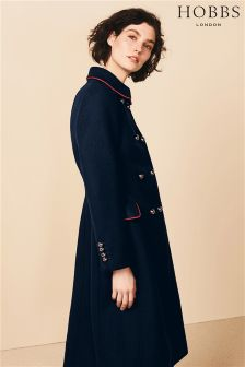 Hobbs Blue Carla Coat