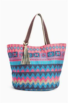 Beach Bags | Large Straw & Canvas Bags For The Beach | Next