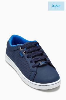 Baker By Ted Baker Blue Tennis Trainer