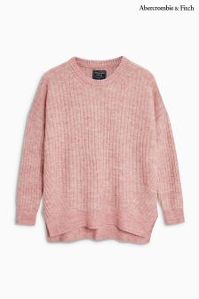 Abercrombie & Fitch Pink Knit Jumper