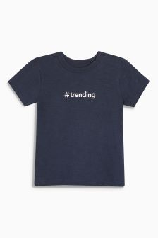 Trending Short Sleeve T-Shirt (3mths-6yrs)