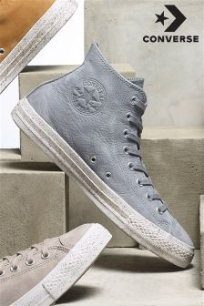 Converse Cool Grey Speckled Chuck Taylor Hi