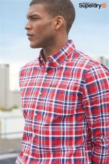 Superdry Raw Oxford Check Shirt