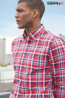 Superdry Raw Oxford Check Shirt